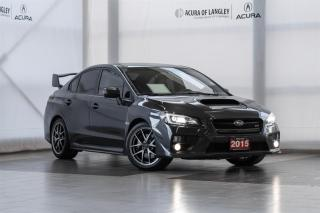 Used 2015 Subaru WRX STI 4Dr 6sp for sale in Langley, BC