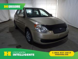 Used 2008 Hyundai Accent GL A/C for sale in St-Léonard, QC