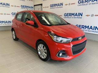 Used 2018 Chevrolet Spark LT- ANDROID AUTO- APPLE CARPLAY- AUTOMATIQUE for sale in St-Raymond, QC