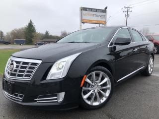 Used 2013 Cadillac XTS Premium Collection Loaded AWD with NAV, Leather, Pano Roof, Heated Steering, Heated And Cooled Seats! for sale in Kemptville, ON
