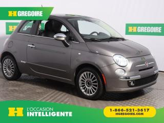 Used 2012 Fiat 500 LOUNGE A/C CUIR TOIT for sale in St-Léonard, QC