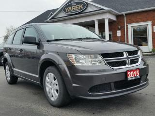 Used 2015 Dodge Journey Canada Value Pkg, Power Doors/Locks, Push Button Start for sale in Paris, ON