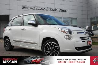 Used 2014 Fiat 500 L Lounge Fiat 500L lounge. Clean carfax,only 55000kms for sale in Toronto, ON