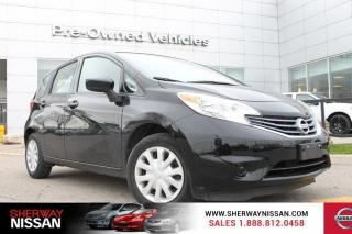 Used 2016 Nissan Versa Note 1.6 SV One owner trade.Clean carfax. Nissan certified preowned! for sale in Toronto, ON