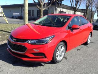 Used 2016 Chevrolet Cruze LT for sale in Drummondville, QC