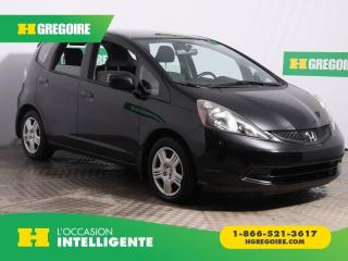 Used 2014 Honda Fit Lx A/c Bluetooth for sale in St-Léonard, QC