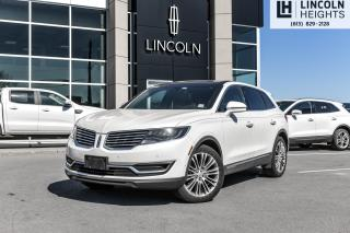 Used 2016 Lincoln MKX Reserve for sale in Ottawa, ON