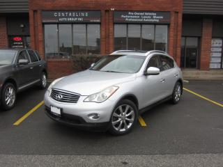 Used 2008 Infiniti EX35 TECHNOLOGY PACKAGE/ 1 OWNER / CLEAN CARFAX REPORT/ $12,389+HST+LIC FEES for sale in North York, ON