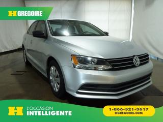 Used 2015 Volkswagen Jetta TRENDLINE CAMERA for sale in St-Léonard, QC