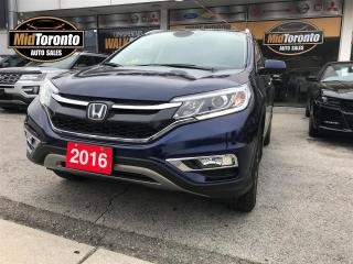 Used 2016 Honda CR-V Touring AWD for sale in North York, ON