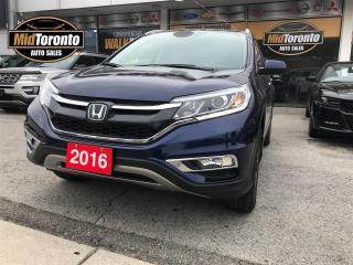 Used 2016 Honda CR-V Touring AWD | One Owner | Like New Condition for sale in North York, ON