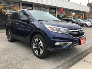 Used 2016 Honda CR-V Touring | Navigation | Power Roof | Leather | AWD | One Owner for sale in North York, ON