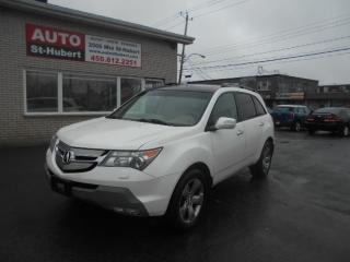 Used 2007 Acura MDX TECH PACK SH-AWD for sale in St-Hubert, QC