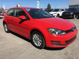 Used 2017 Volkswagen Golf 3-Dr 1.8t Trendline for sale in Gatineau, QC