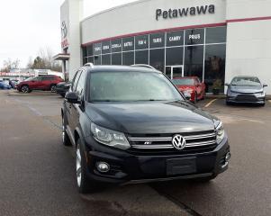 Used 2016 Volkswagen Tiguan R-LINE for sale in Pembroke, ON