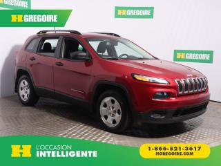 Used 2015 Jeep Cherokee SPORT A/C CAM for sale in St-Léonard, QC