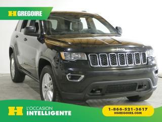 Used 2017 Jeep Grand Cherokee LAREDO 4X4 AC GR for sale in St-Léonard, QC