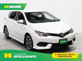 Used 2018 Toyota Corolla iM CVT A/C GR ELECT for sale in St-Léonard, QC