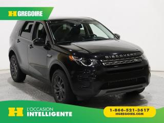 Used 2016 Land Rover Discovery Sport SE AC GR ELEC TOIT for sale in St-Léonard, QC