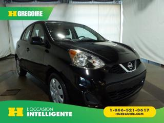 Used 2017 Nissan Micra S A/c for sale in St-Léonard, QC