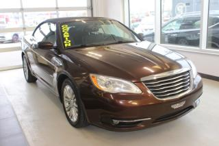 Used 2012 Chrysler 200 Cabriolet TOURING AIR CLIMATISÉ for sale in Lévis, QC