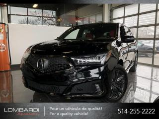 Used 2019 Acura MDX A-SPEC|INTERIEUR ROUGE|8 PNEUS|NAVI|CAM| for sale in Montréal, QC