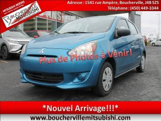 Used 2015 Mitsubishi Mirage Es Plus , A/c for sale in Boucherville, QC