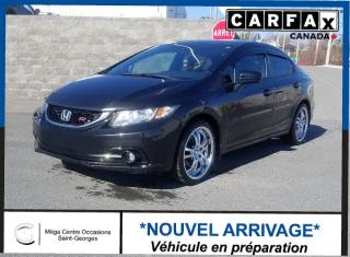 Used 2014 Honda Civic Si / Toit / Mag for sale in St-Georges, QC