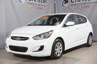 Used 2014 Hyundai Accent GL 5 PORTES BLUETOOTH SIEGE CHAUFFANT for sale in Montréal, QC