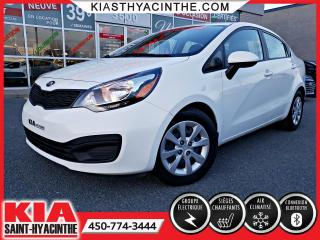 Used 2014 Kia Rio LX+ ** SIÈGES CHAUFFANTS / BLUETOOTH for sale in St-Hyacinthe, QC