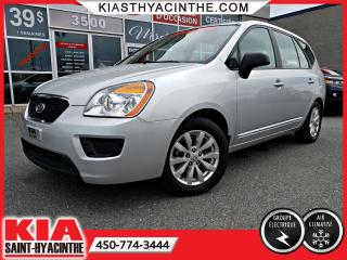 Used 2011 Kia Rondo LX ** GR ÉLECTRIQUE + A/C for sale in St-Hyacinthe, QC