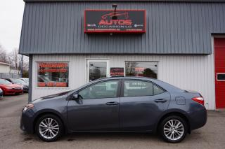 Used 2015 Toyota Corolla LE for sale in Lévis, QC