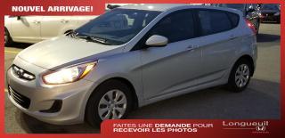 Used 2015 Hyundai Accent ** VENDU ** GLS *** Bas kilométrage *** for sale in Longueuil, QC