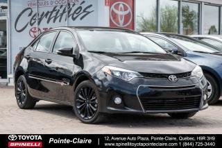 Used 2015 Toyota Corolla S 50th Anniv. Rare for sale in Pointe-Claire, QC