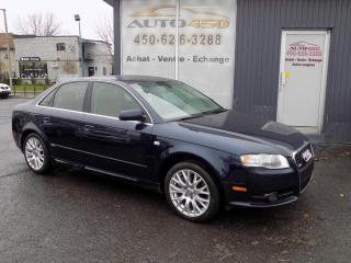 Used 2008 Audi A4 ***S-LINE, QUATTRO, CUIR, TOIT*** for sale in Longueuil, QC