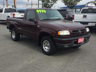 Used 2003 Mazda B-Series B3000 for sale in Langley, BC