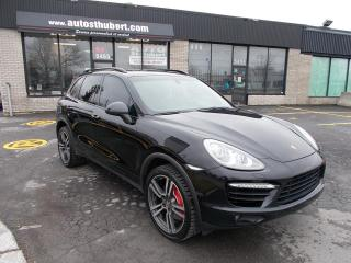 Used 2011 Porsche Cayenne Turbo AWD for sale in St-Hubert, QC
