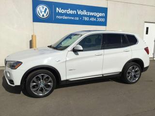 Used 2016 BMW X3 xDrive28d AWD - DIESEL / LEATHER / SUNROOF for sale in Edmonton, AB