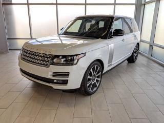 Used 2016 Land Rover Range Rover AUTOBIO for sale in Edmonton, AB