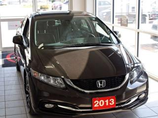 Used 2013 Honda Civic Sdn Touring for sale in Brandon, MB