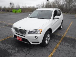 Used 2014 BMW X3 xDrive28i for sale in Cornwall, ON