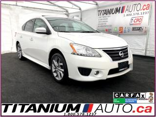 Used 2015 Nissan Sentra SR+GPS+Camera+Sunroof+Heated Seats+Bose Sound+XM++ for sale in London, ON