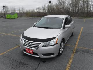 Used 2015 Nissan Sentra for sale in Cornwall, ON