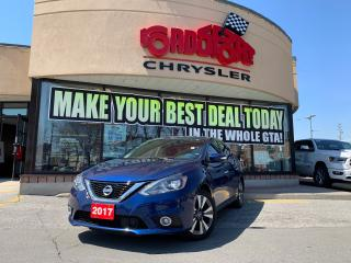 Used 2017 Nissan Sentra SL+NAV+SUNROOF+LEATHER+BLIND SPOT+LOADED for sale in Toronto, ON