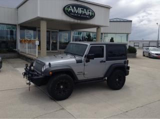 Used 2014 Jeep Wrangler AUTO / RIMS / NO PAYMENTS FOR 6 MONTHS !! for sale in Tilbury, ON