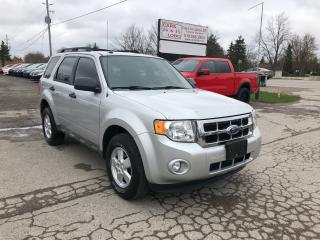 Used 2009 Ford Escape XLT for sale in Komoka, ON