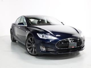 Used 2015 Tesla Model S 85D   LOCAL CAR   CLEAN CARFAX for sale in Vaughan, ON