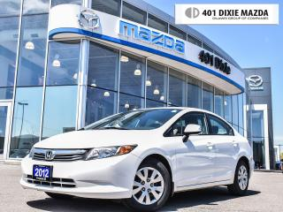 Used 2012 Honda Civic LX (A5)|LOW MILEAGE| NO ACCIDENTS|FINANCEAVAILABLE for sale in Mississauga, ON