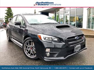 Used 2017 Subaru WRX STI Sport-tech Spotless ICBC, Low K for sale in North Vancouver, BC