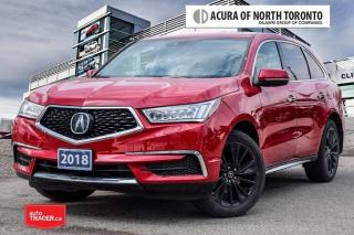 Used 2018 Acura MDX Tech Demo Sale/No Accident| DVD| Remote Start for sale in Thornhill, ON